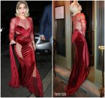 Lady Gaga  In Ted Khoury Couture – Out In Milan