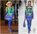 Lady Gaga  In Versace  Out In New York