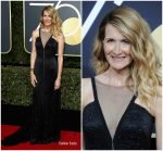 Laura Dern In Armani Prive  @  2018 Golden Globe Awards