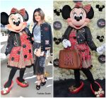 Lucy Hale In Coach  @  Lunch Celebrating Minnie's Star on the Hollywood Walk of Fame