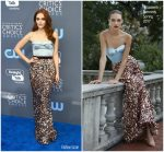 Madeline Brewer In Elizabeth Kennedy  @ 2018 Critics' Choice Awards