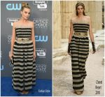 Margot Robbie  In Chanel –   2018 Critics' Choice Awards