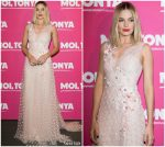 Margot Robbie In Rodarte  @ 'I, Tonya' Paris Premiere