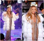 Mariah Carey  In Yousef AlJasmi Performing  on Dick Clark's New Year's Rockin' Eve 2018