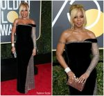 Mary J. Blige  In Alberta Ferretti  – 2018 Golden Globe Awards