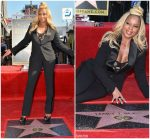 Mary J. Blige  In  Ralph Lauren – Receiving Her Star On The Hollywood Walk of Fame