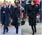 Meghan Markle In Stella McCartney  @ Cardiff Castle Visit