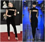 Miley Cyrus In Jean-Paul Gaultier Couture  @ 2018 Grammy Awards