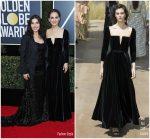 Natalie Portman In Christian Dior Couture & America Ferrera In Christian Siriano – 2018 Golden Globe Awards