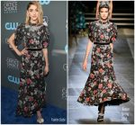 Natalia Dyer In Erdem – 2018 Critics' Choice Awards