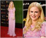 Nicole Kidman  In Carolina Herrera  @ 2018 AACTA International Awards