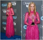 Nicole Kidman in Valentino  – 2018 Critics' Choice Awards