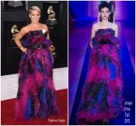 Pink  In  Armani   Privé   @ 2018 Grammy Awards