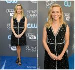 Reese Witherspoon  In Prada @   2018 Critics' Choice Awards