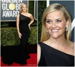 Reese Witherspoon in Zac Posen – 2018 Golden Globe Awards
