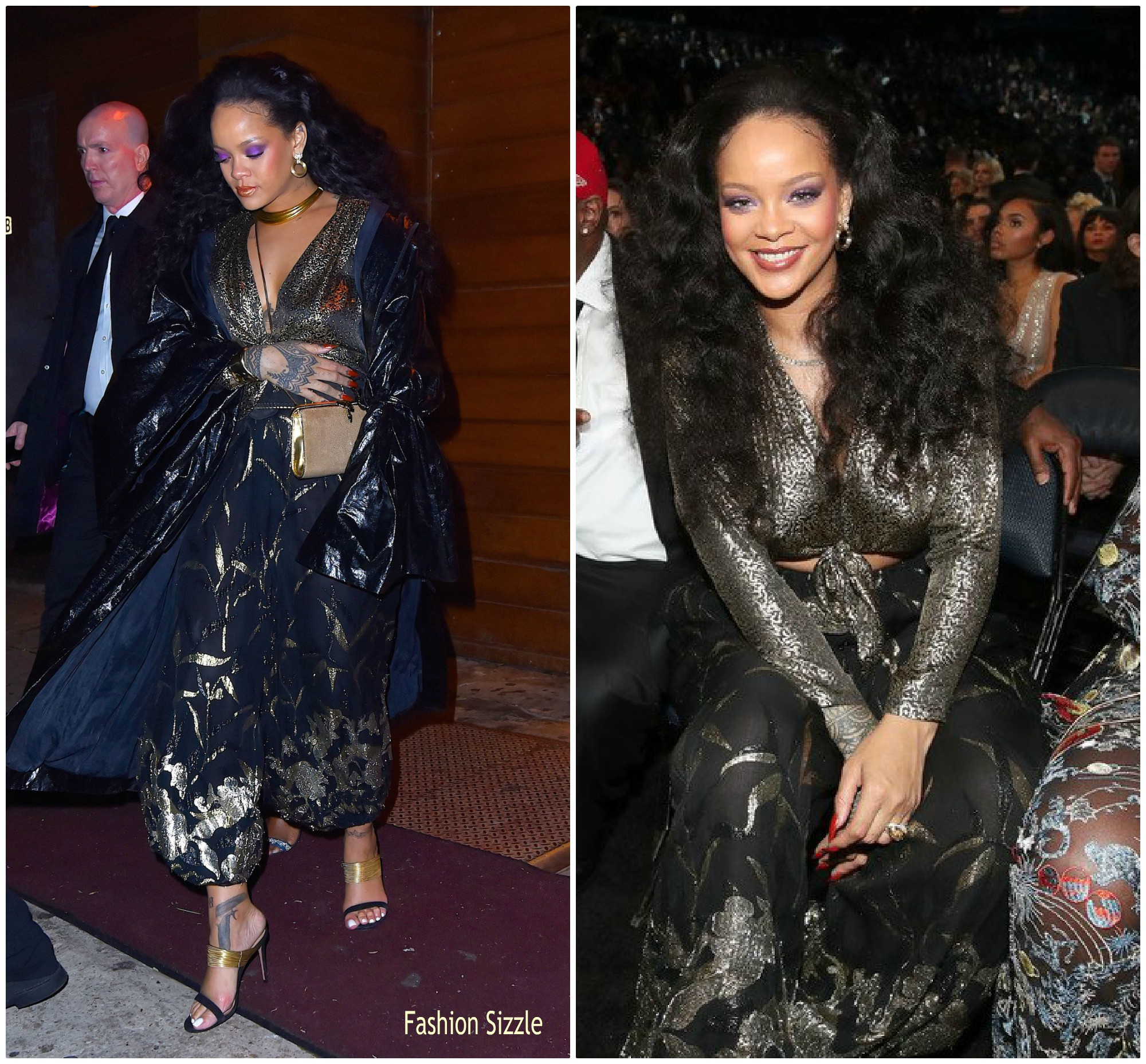 rihanna-in-yves-saint-laurent-grammy-2018-celebration-at-1-oak-nightclub