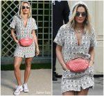Rita Ora  In Chanel @ Chanel Haute Couture Spring 2018