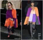 Rita Ora in Fausto Puglisi   at Chanel Store in Paris