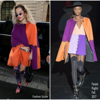 rita-ora-in-fausto-puglisi-at-chanel-store-in-paris