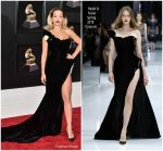 Rita Ora In Ralph & Russo Couture  @ 2018 Grammy Awards