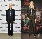 Saoirse Ronan In Coach  @ Times Talks Presents: Greta Gerwig and Saoirse Ronan Q&A