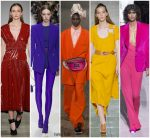 Spring 2018 Runway Fashion Trend –  Bold Colors