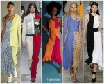 Spring 2018 Runway Fashion Trend –  Half &  Half