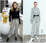 Suki Waterhouse In Edun  – The IMDb Studio At  2018 Sundance Film Festival