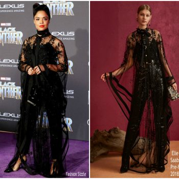 teesa-thompson-in-elie-saab-black-panther-world-premiere
