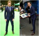 Tom Hiddleston  In  Gucci @ 'Early Man' London Premiere