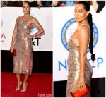 Tracee Ellis Ross  In Narciso Rodriguez  @ 2018 NAACP Image Awards