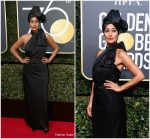 Tracee Ellis Ross In Marc Jacobs – 2018 Golden Globe Awards