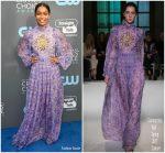 Yara Shahidi In Giambattista Valli Couture – 2018 Critics' Choice Awards