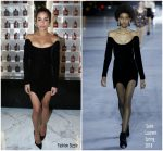 Zoe Kravitz In Saint Laurent At The YSL Beauty Party