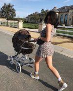 Kylie Jenner In Fendi – Instagram Pic