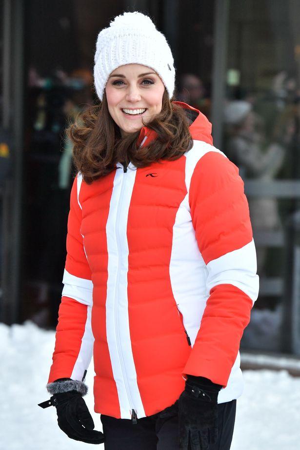 Duke And Duchess Tour Holmenkollen Ski Jump In Oslo