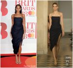 Alesha Dixon In Jacquemus @  BRIT Awards 2018