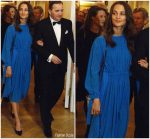 Alicia  Vikander  In  Louis Vuitton @  Dinner with Swedish Royal Family