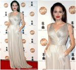 Angelina Jolie in Atelier Versace @  2018 Annual Annie Awards