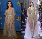 Angelina Jolie  In Elie Saab  Couture @  2018 American Society of Cinematographers Awards