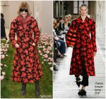 Anna Wintour In   Proenza Schouler  @   Tory Burch Fall Winter 2018