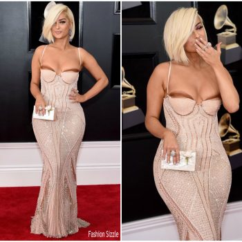 bebe-rexha-in-la-perla-2018-grammy-awards