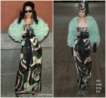 Cardi B  In  Marc Jacobs @ Marc Jacobs  Fall 2018 NYFW Frontrow