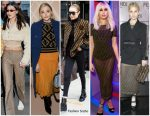 Celebrities Wearing Fendi's Trademark Logo