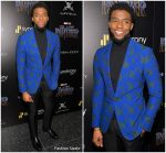 Chadwick Boseman  In Musika Frere  @ Black Panther New York  Screening