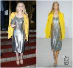 Dakota Fanning  In  Oscar De La Renta  @  Oscar De La Renta New York Fashion Week  Show