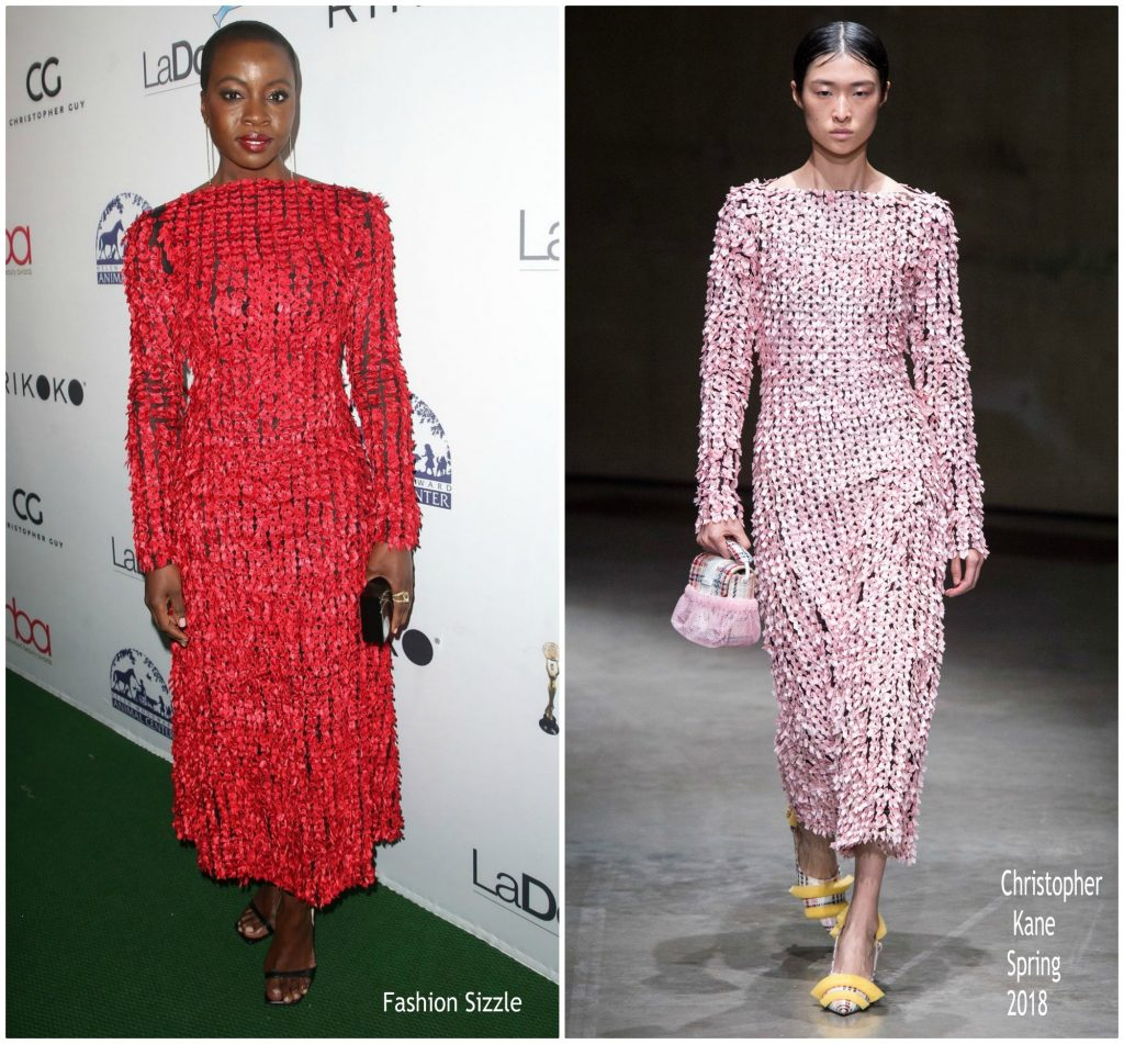 Danai Gurira In Christopher Kane @ 4th Hollywood Beauty