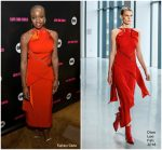 "Danai Gurira In Dion Lee  @ ""Black Panther "" Welcome To Wakanda NYFW Presentation"