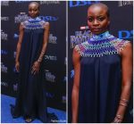 Danai Gurira  In The Row  @ Black Panther  South Africa Premiere