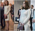 Duchess Of Cambridge In Alexander McQueen  @ Visit To Sweden – Day 2